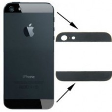 iPhone 5 split backcover glas zwart