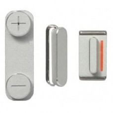 iPhone 5C buttonset zilver